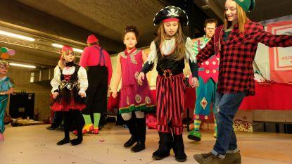 Carnavalsgilde viert jubileum met kindercarnaval