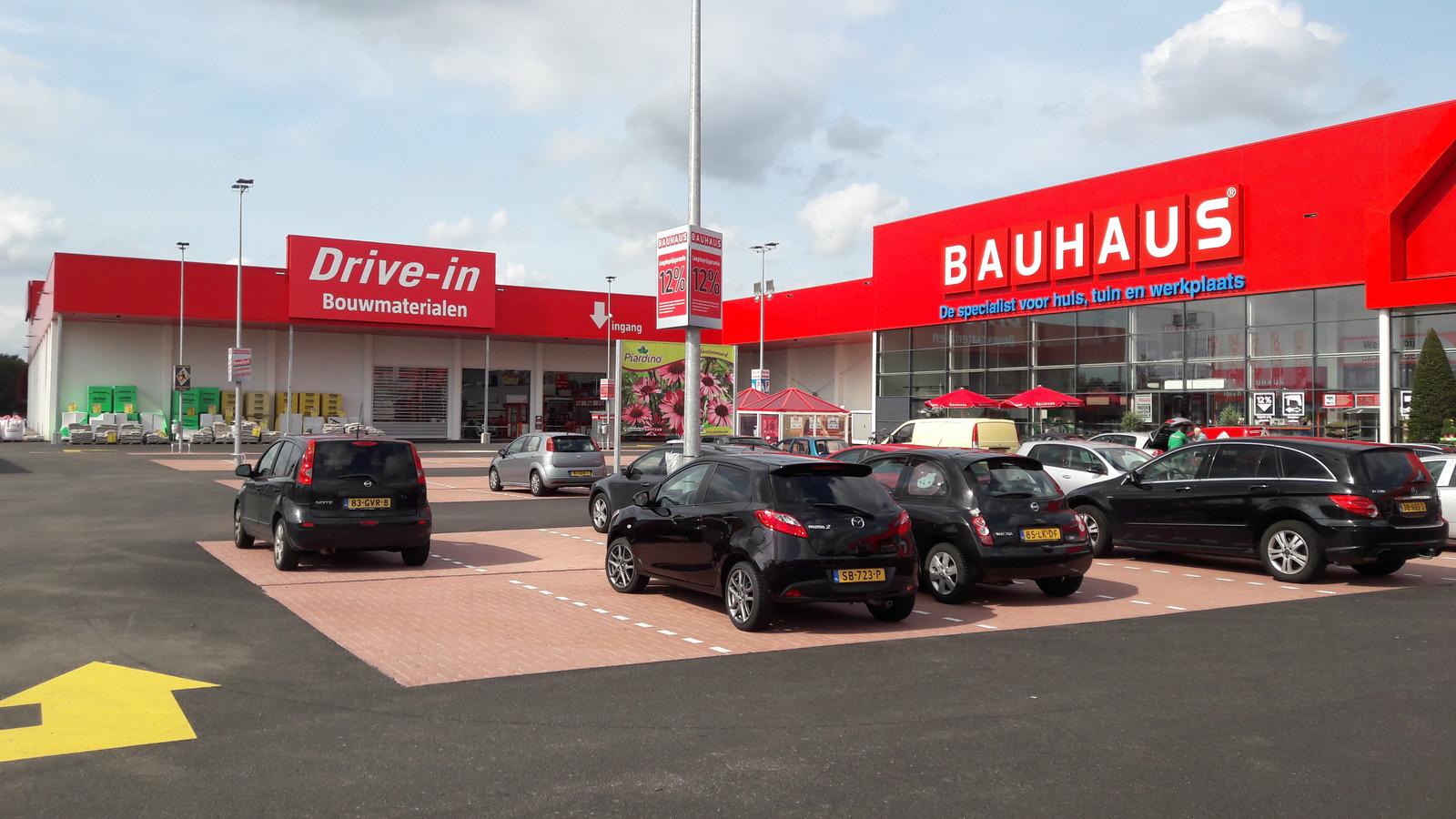 Bauhaus in Venlo is sinds medio juli 2018 open.