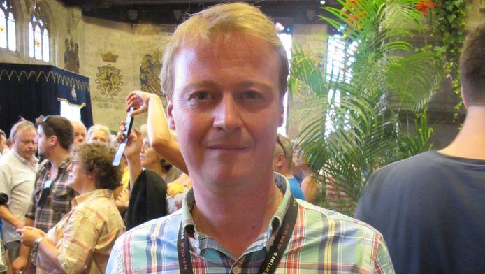 Feestenburgemeester Christophe Peeters.