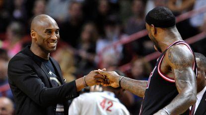 """LeBron James reageert voor eerst op overlijden Kobe Bryant: """"Mijn hart is gebroken"""""""