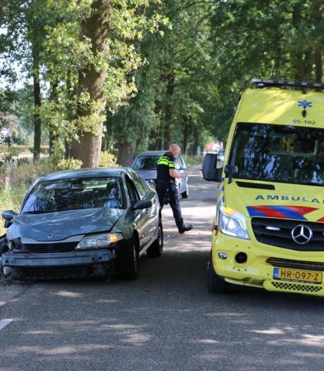 Twee gewonden bij eenzijdig ongeluk in De Lutte