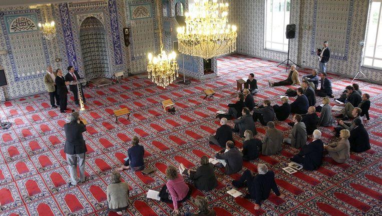 De Fatih-moskee in Beringen.