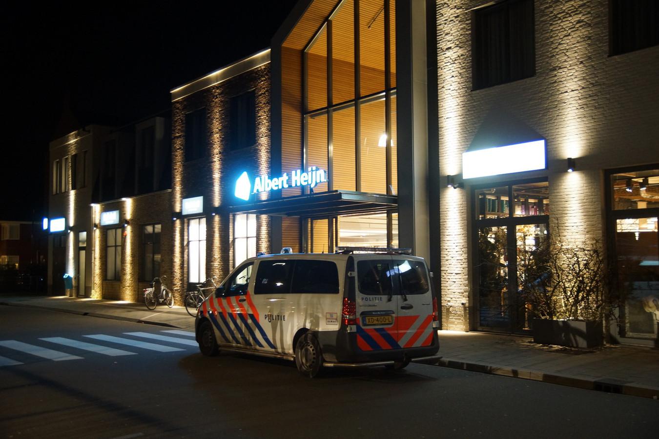 De 38-jarige man pleegde een overval bij de Gall&Gall in de Albert Heijn van Kaatsheuvel
