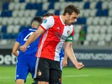 Feyenoord plaatst zich zonder problemen voor play-offs