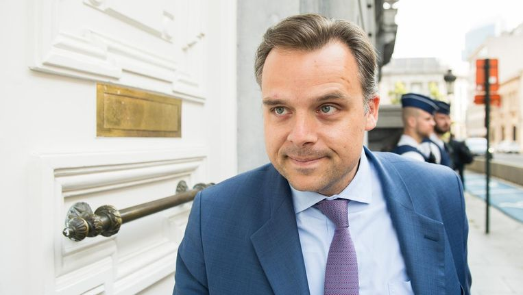 Staatssecretaris voor Fraudebestrijding Philippe De Backer.