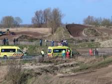 Motorcrosser zwaargewond bij val op crossterrein Rilland