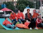 Oranjekoorts in Doetinchem, want de Leeuwinnen komen!