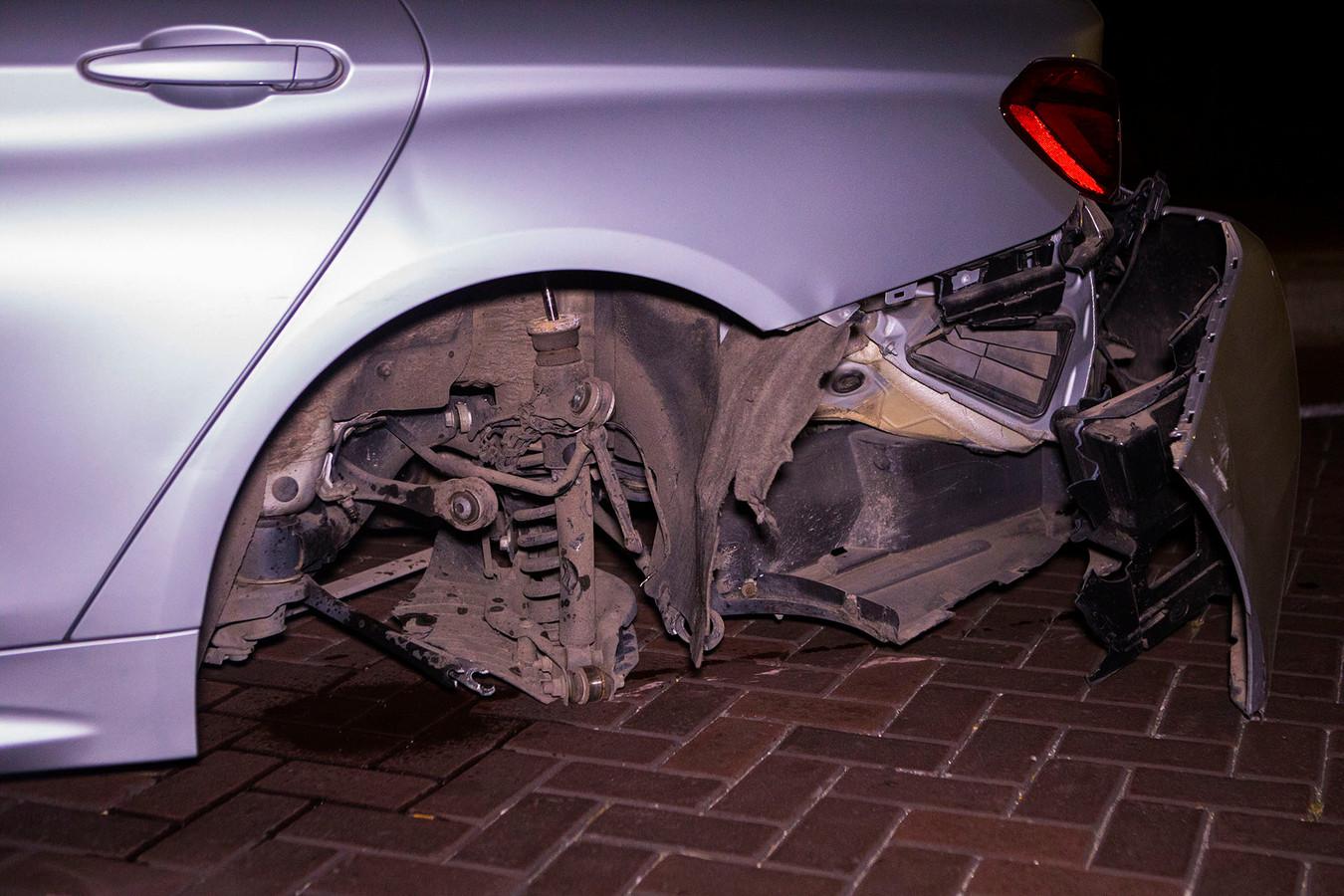 Auto's botsen tegen elkaar in Nijnsel
