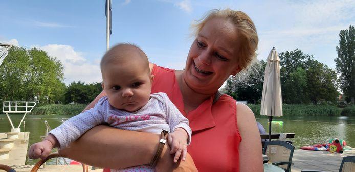 Saar en haar moeder Kayleigh