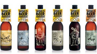 Scheldebrouwerij pakt uit op World Beer Awards: maar liefst zes van de negen bieren vallen in de prijzen