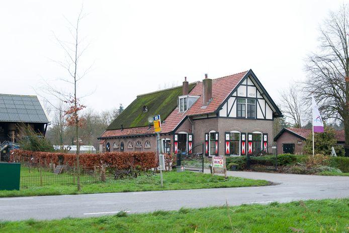Zorgboerderij de Heihoeve aan de Spanjaardsdijk in Lettele.