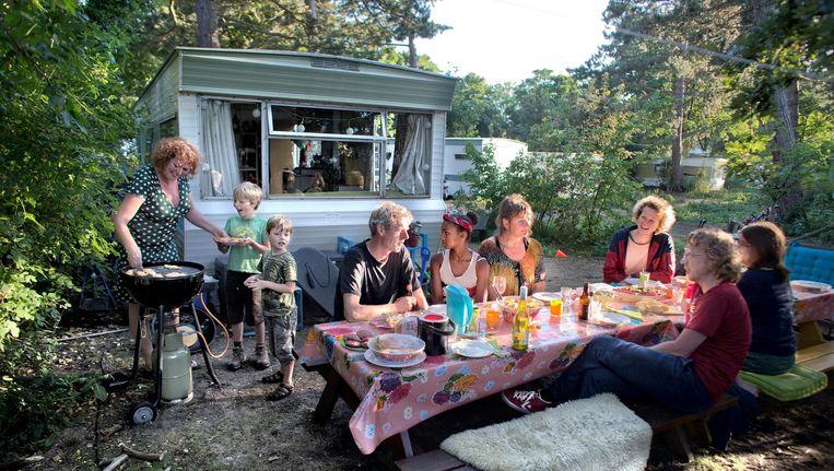 Camping Bakkum is een geliefd onder Amsterdammers, vlakbij en toch lekker weg Beeld Rink Hof