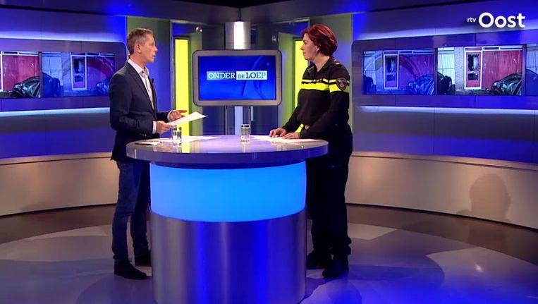 Het programma Onder de Loep van RTV Oost. Beeld