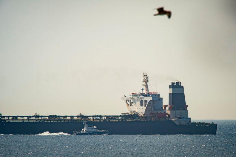 De Iraanse tanker Grace One zal worden vrijgegeven op voorwaarde dat de lading niet voor Syrië bestemd is.