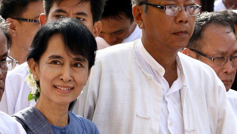 Aung San Suu Kyi. Beeld epa