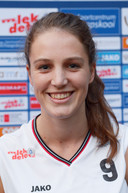 Rowie Jongeling  de 1.87 meter lange  'Power Forward'.