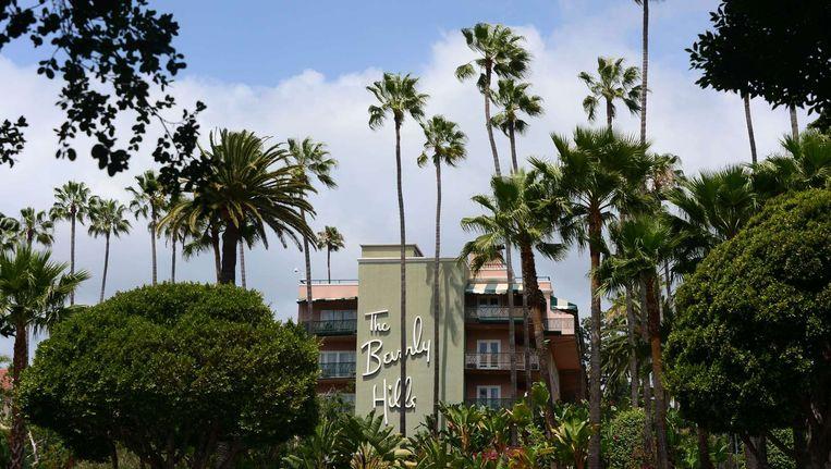 Het Beverly Hills hotel van de sultan van Brunei. Beeld afp