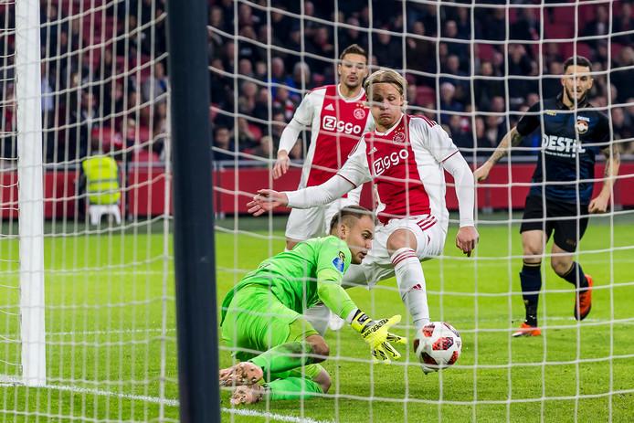 SKOR produceert onder meer doelen voor Ajax.