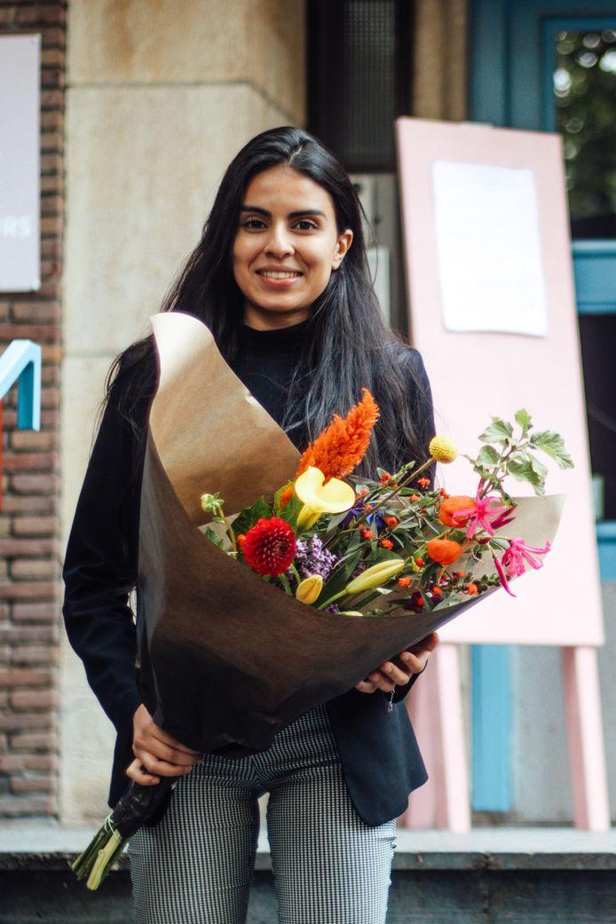 Manal Moussane uit Gouda verkozen tot jongeren vertegenwoordiger.