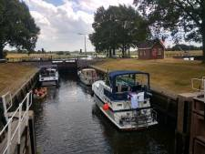 Pleziervaart tussen Dalfsen en Zwolle kan minder vaak door sluis vanwege waterbesparing