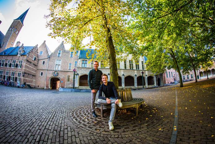 Bas van de Kruisweg (links) en Jordi van der Meijden