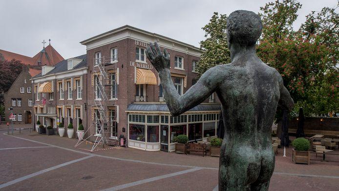 Hotel de Wereld in Wageningen.