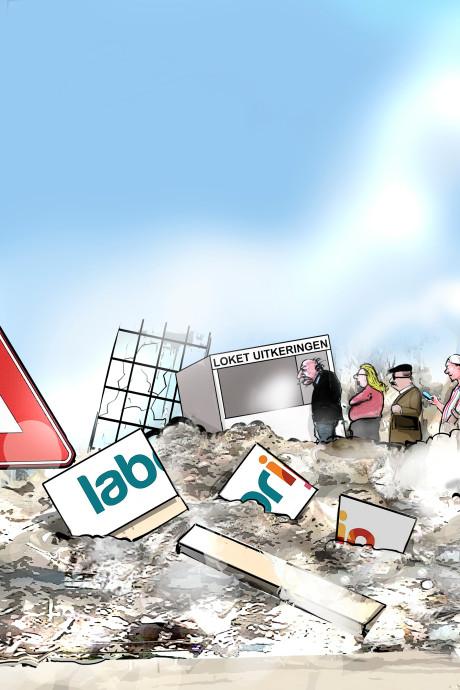 Laborijn komt twee miljoen euro te kort door 'domme fout'