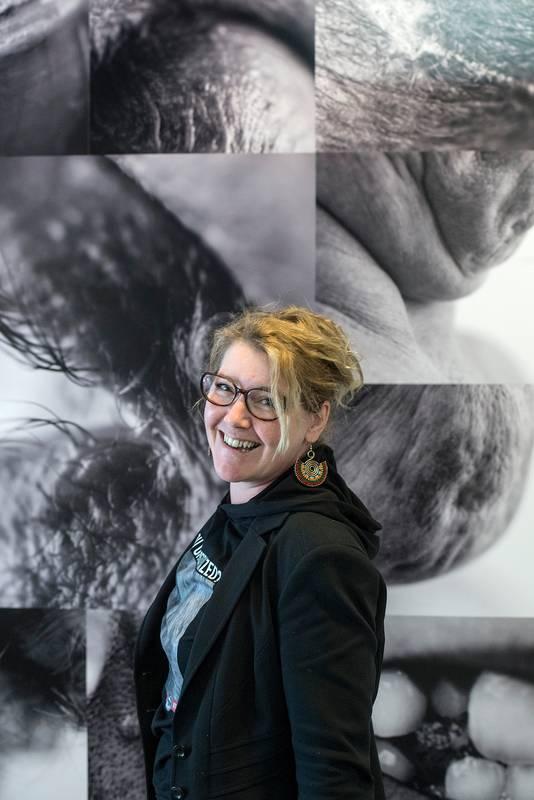 Annemarieke van Peppen voor de foto's die ze maakte op BredaPhoto.