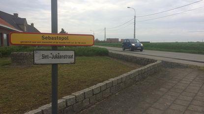 Nieuwe verkaveling bij Sebastopol