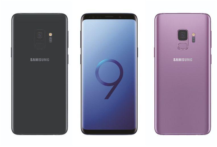 De Samsung Galaxy S9.