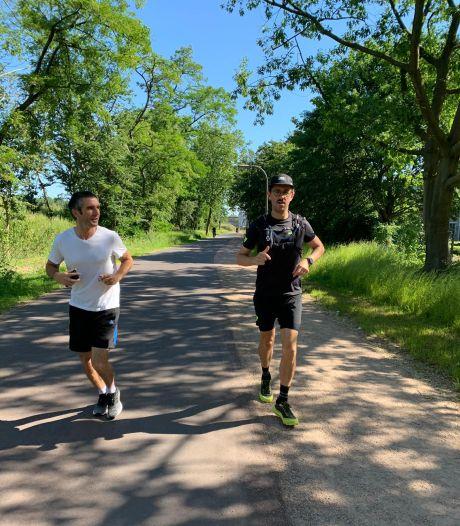 Derde keer, goede keer: Antwerpse ultraloper Seba Vandermolen háált zijn 200 kilometer rond zijn stad