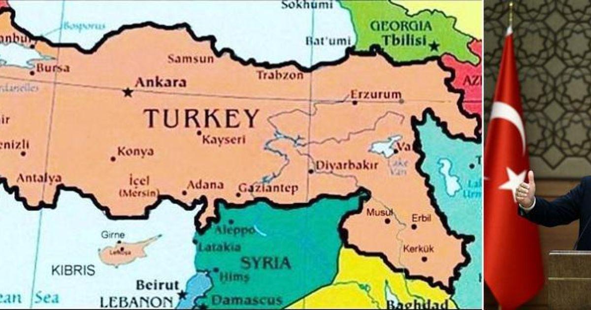 Top Erdogan droomt van gewezen landsgrenzen Ottomaanse Rijk  #SE27