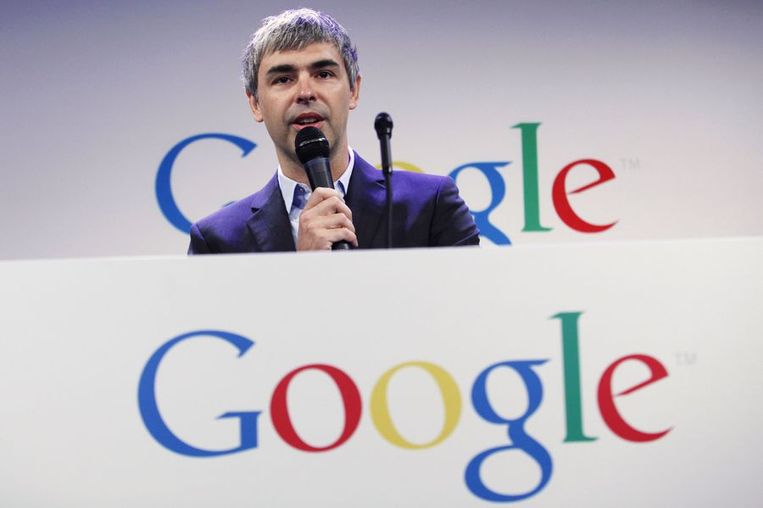 Google-CEO Larry Page.
