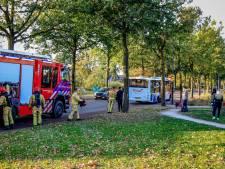 Rokende banden in Gemert: passagiers moeten de bus uit