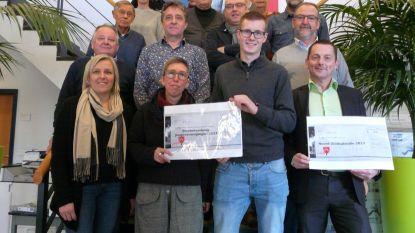Mooie cheques voor 11.11.11 en Noord-Zuid