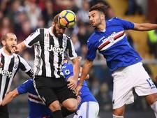 Juventus raakt verder achterop na nederlaag bij Sampdoria