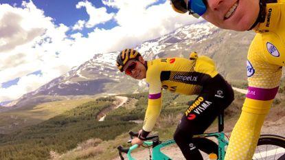 """Van Aert na hoogtestage: """"Het is me goed bevallen boven op de berg"""""""