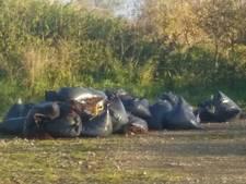 Drugsafval gedumpt in natuurgebied De Blikken