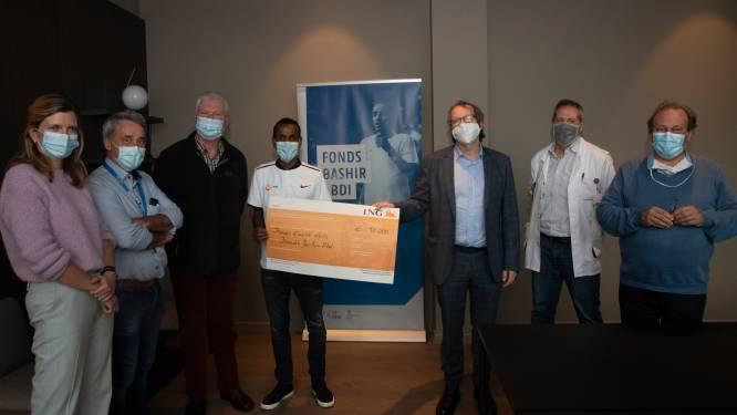 """Fonds Emilie Leus schenkt 10.000 euro aan fonds Bashir Abdi van UZ Gent dankzij succesvolle en virtuele benefietloop: """"Ook in 2021 lopen we nog virtueel"""""""