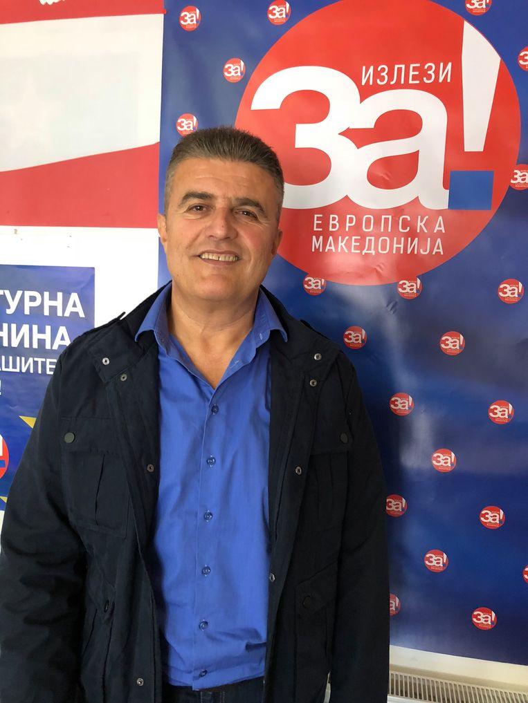 Parlementariër Tomislav Tuntev Beeld Thijs Kettenis