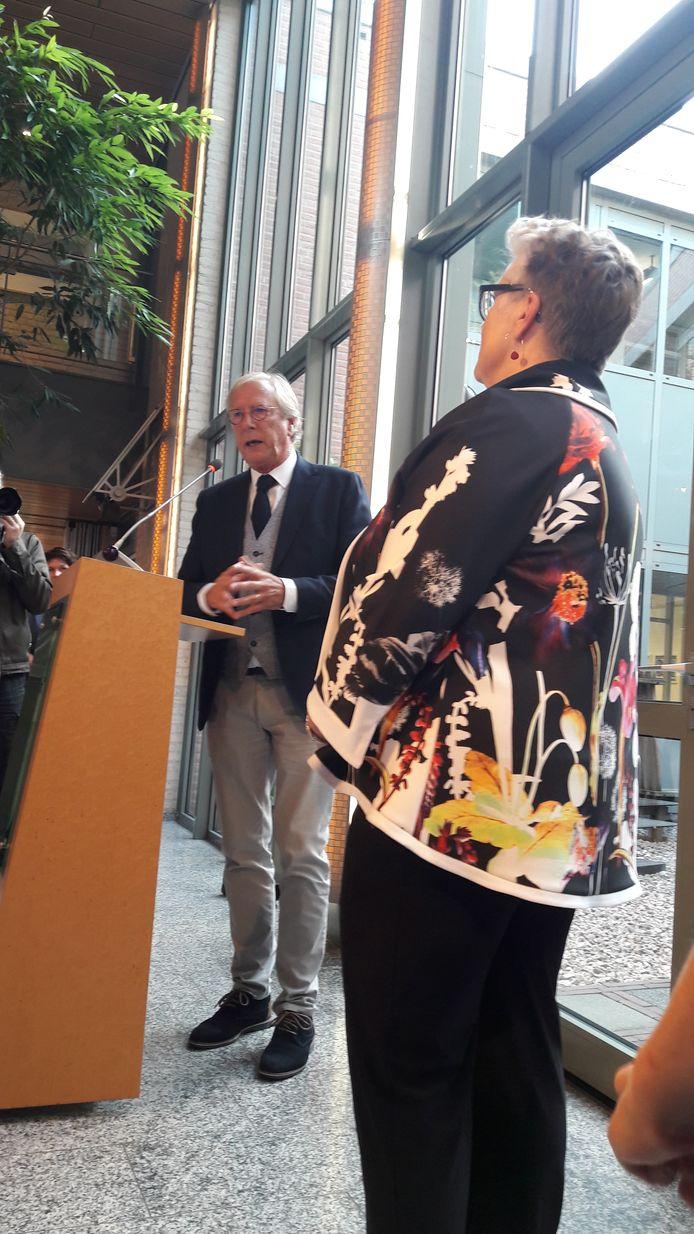 Yves de Boer en Jeannette Zwijnenburg.