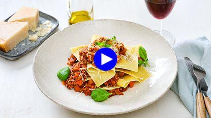 Maak je verse lasagne intenser en smaakvoller met deze simpele ingreep