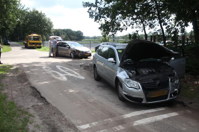 Botsing in Rucphen.