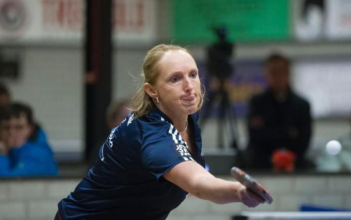 Brenda Vonk won haar eerste partij voor SKF.