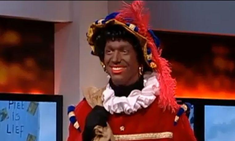 Traditionele Zwarte Piet. Beeld Knevel & Van Den Brink