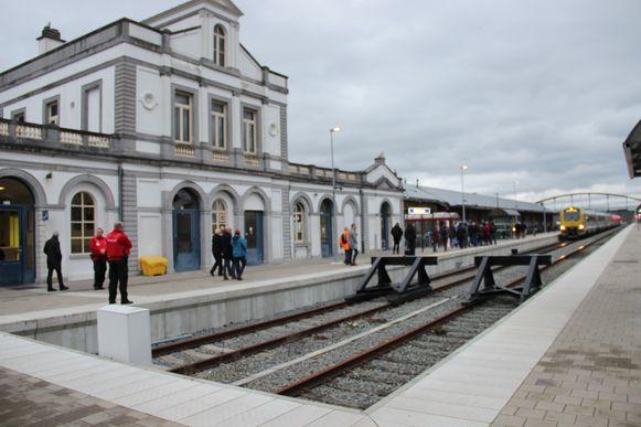 Het station van Ronse.