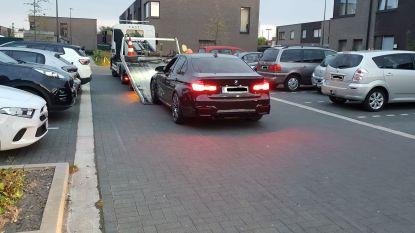 """Auto van wegpiraat die gisteren tegen gevel botste in beslag genomen: """"Bestuurder maakte kort voor ongeval doelbewuste slipbewegingen"""""""