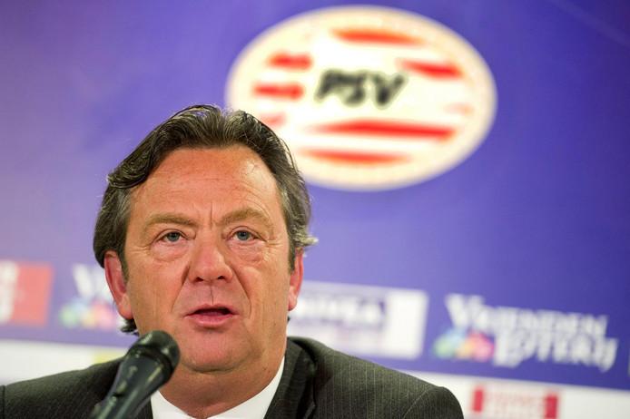 Tiny Sanders, de vorige algemeen directeur van PSV.