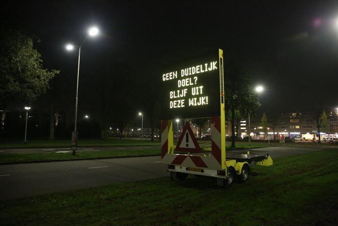 Tekstkar roosendaal langdonk kalsdonk vuurwerk rellen stock adrstock BN preventief fouilleren