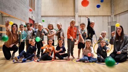 Kleutersportkamp in sporthal Sint-Gillis